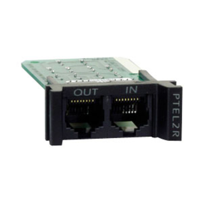 APC ProtectNet rackmount module for serial/RS232 (1*RJ-45) Network analyzer