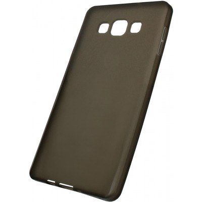 Mobilize Gelly Case Smokey Grey Samsung Galaxy A7 Mobile phone case - Grijs, Doorschijnend