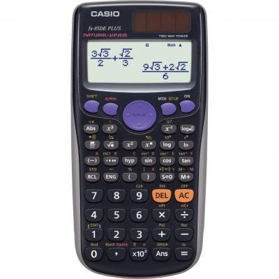 Casio calculator: FX-85DE Plus - Zwart