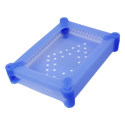 "Logilink : HDD Silicone Case for 3.5"" HDDs - Blauw"