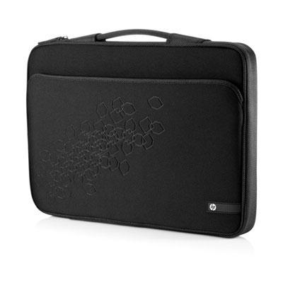 HP 16 Black Cherry Notebook Sleeve Laptoptas - Zwart