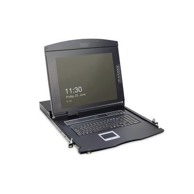 Digitus DS-72210 Rack console - Zwart