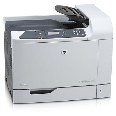 Hp laserprinter: Color LaserJet CP6015dn printer - Zwart, Cyaan, Magenta, Geel