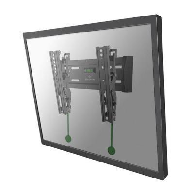 """Newstar montagehaak: TV/Monitor Wall Mount (tiltable) for 10""""-40"""" Screen - Black - Zwart"""