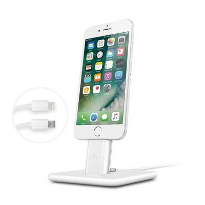 Twelvesouth mobile device dock station: HiRise Deluxe 2 - Wit