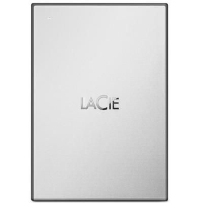 LaCie STHY1000800 Externe harde schijf - Zwart, Zilver