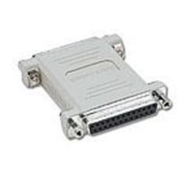 C2G DB25 F/F Gender Changer Kabel adapter - Grijs