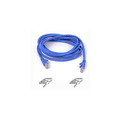 Belkin netwerkkabel: CAT 5 PATCH CABLE - Blauw
