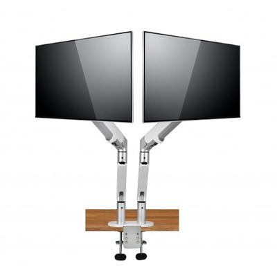Spire Arm 2 Monitorarm - Zilver, Wit