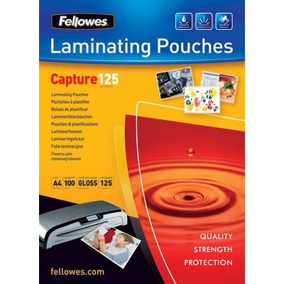 Fellowes Glossy Pouches A5 100 pcs. 125 mµ Laminatorhoes