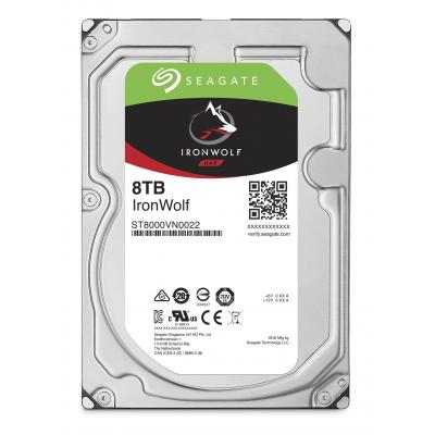 Seagate interne harde schijf: NAS HDD IronWolf 8TB