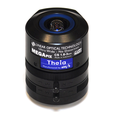 Axis Theia Varifocal Ultra Wide Lens Camera lens - Zwart