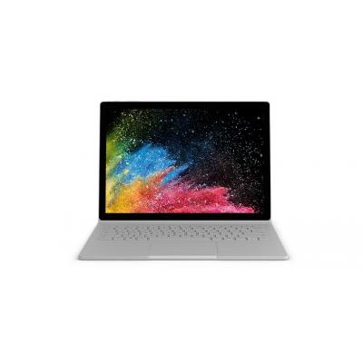 Microsoft laptop: Surface Book Surface Book 2 - Zilver, QWERTZ