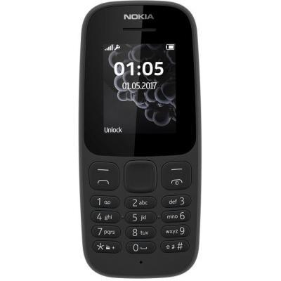 Nokia 105 mobiele telefoon - Zwart