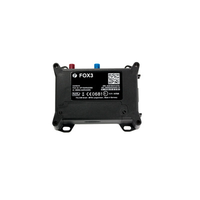 Lantronix FOX3-3G-DR GPS tracker - Zwart