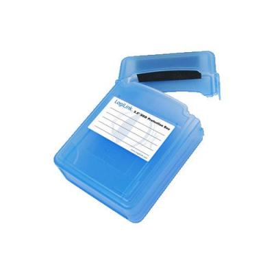 """LogiLink DD Protection Box for 2x 6.35 cm (2.5"""") HDDs - Blauw"""