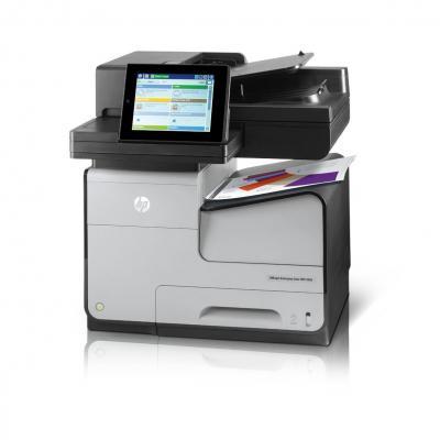 Hp multifunctional: Officejet Enterprise Color Flow MFP X585z - Zwart, Cyaan, Magenta, Geel