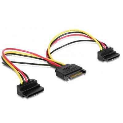 Delock ATA kabel: 60128 - Zwart, Rood, Geel, Veelkleurig