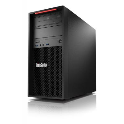 Lenovo pc: ThinkStation P310 - Zwart