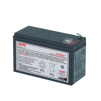 APC Batterij Vervangings Cartridge RBC17 UPS batterij - Zwart