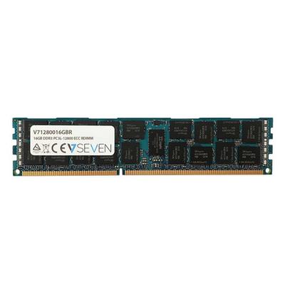 V7 16GB DDR3 PC3-12800 - 1600MHz, CL11 RAM-geheugen - Groen