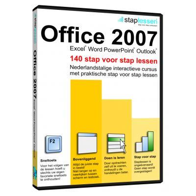 Shareart educatieve software: Staplessen, Office 2007 NL
