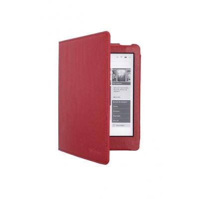 Gecko Protection cover Deluxe fits the Kobo Aura Edition 2, Red E-book reader case - Rood