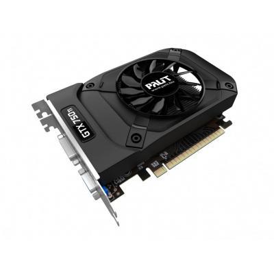 Palit videokaart: GeForce GTX 750 Ti StormX (1024MB GDDR5) - Zwart