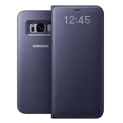 Samsung mobile phone case: Galaxy S8 LED View Cover Violet