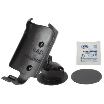 RAM Mounts Flex Adhesive Dashboard Mount, f/Garmin Colorado 300, 400c - Zwart