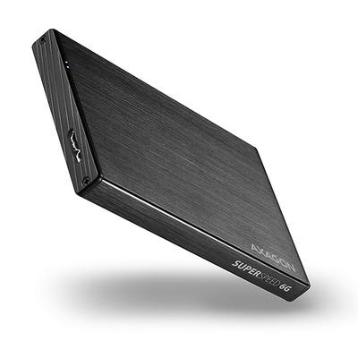 """Axagon EE25-XA6 USB 3.0 ALINE box, SATA 6G, UASP, 2.5"""" HDD / SSD Behuizing - Zwart"""