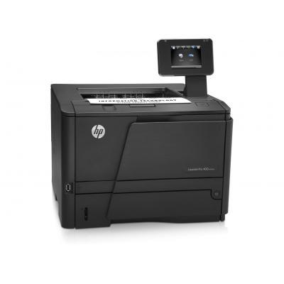 HP laserprinter: LaserJet Pro M401dn - Zwart