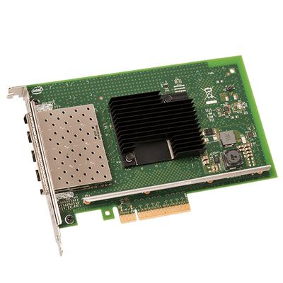 Intel Ethernet Converged Network Adapter X710-DA4, retail bulk Netwerkkaart - Zwart,Groen,Roestvrijstaal