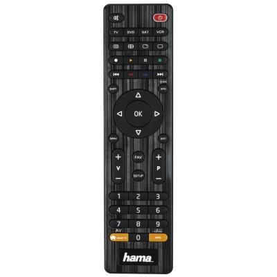Hama afstandsbediening: Universal 4in1 Remote Control - Zwart