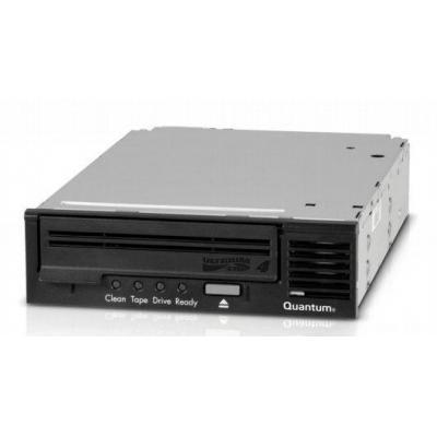 Quantum tape drive: LTO-4 HH, 1U Rackmount, 3Gb/s SAS, black bezel - Zwart