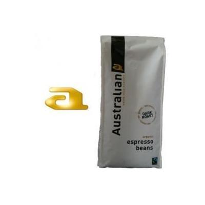 Australian koffie: Dark Roast espresso bonen 8x1000 gram
