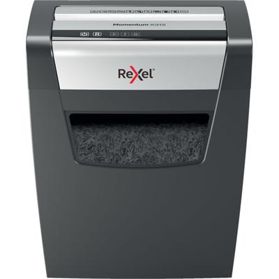 Rexel Momentum X312 Papierversnipperaar - Zwart,Grijs