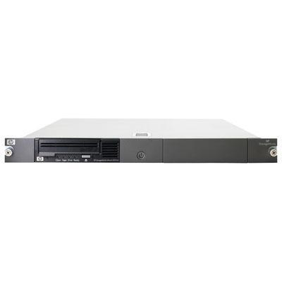 Hewlett Packard Enterprise StoreEver LTO-4 Ultrium 1760 SAS (1) in 1U Rack-mount Kit Tape .....