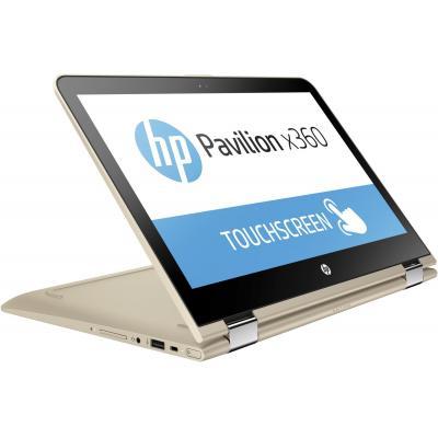 Hp laptop: Pavilion x360 13-u090nd - Goud