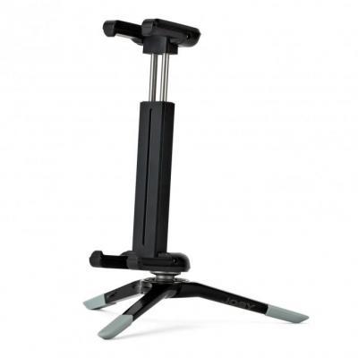 Joby multimedia kar & stand: GripTight Micro Stand XL (Grey) - Zwart, Grijs