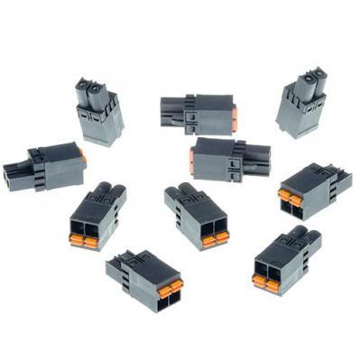 Axis CONNECTOR A 2P5.08 STR 10PCS Kabel connector - Zwart