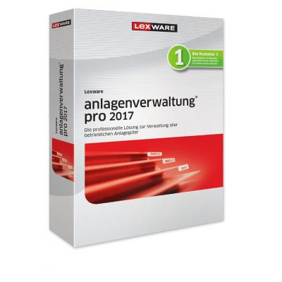 Lexware boekhoudpakket: Anlagenverwaltung Pro 2017