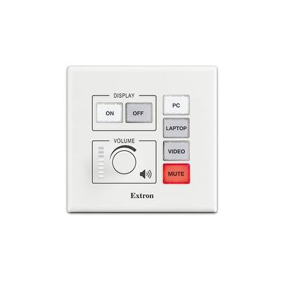 Extron EBP 100 Drukknop-panel - Zwart, Wit