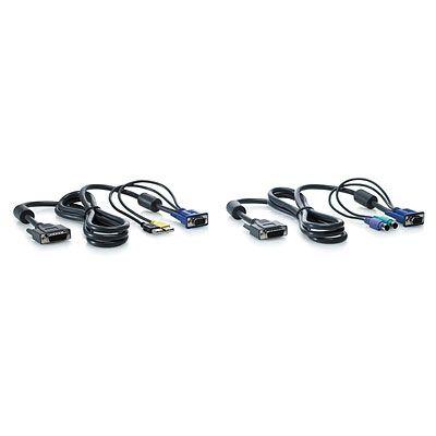 Hewlett Packard Enterprise AF612A toetsenbord-video-muis (kvm) kabel