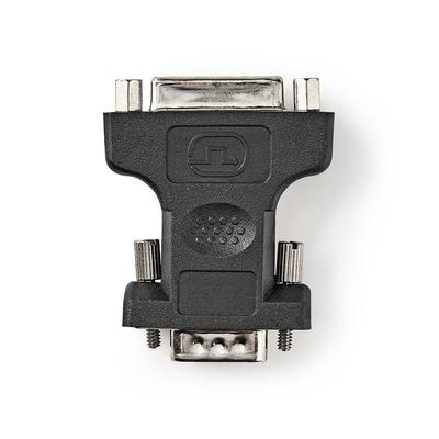 Nedis VGA - DVI-Adapter, VGA Male - DVI-I 24+5-Pins Female, Zwart Kabel adapter