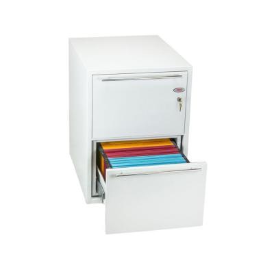 Phoenix archiefkast: 720 x 525 x 675 mm, 102 L, Key Lock, 132 kg, White - Wit