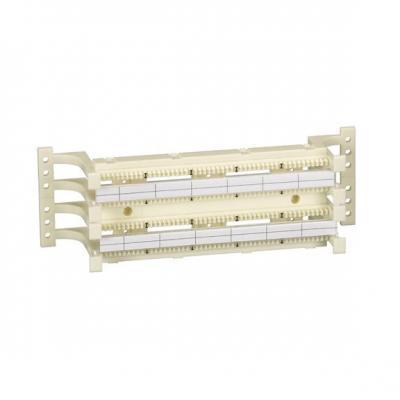 Black Box CAT5e 100-Pair Wiring Block Kit, Wiring Block, 20 x 5-Pair Connecting Blocks Patch panel accessoire .....