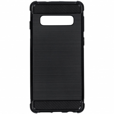 Selencia Xtreme Softcase Backcover voor Samsung Galaxy S10, Zwart Mobile phone case
