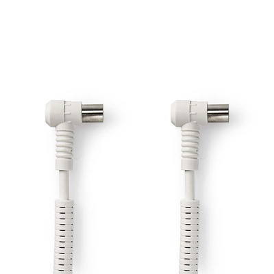Nedis CSGP40120WT150 Coax kabel - Wit