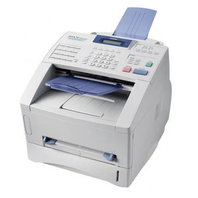 Brother faxmachine: FAX-8360P - MH / MR / MMR / JBIG, 33.6 kbit/s, 14 A4 cpm, 600 x 300 dpi, 8MB